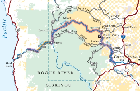 Umpqua Oregon Map.Southern Oregon Rivers Rogue South Umpqua North Umpqua Elk